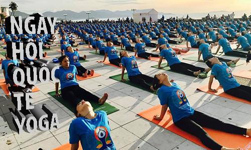 8.000 người tham gia đồng diễn trong Chuỗi sự kiện Ngày Quốc tế Yoga Lần thứ 4 tại Việt Nam năm 2018