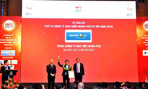 Bảo Việt Nhân thọ - Doanh nghiệp Việt đạt tiêu chuẩn Quốc tế