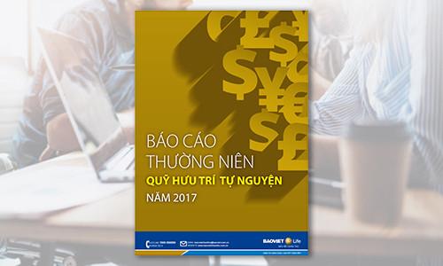 Báo cáo Thường niên Quỹ Hưu trí Tự nguyện năm 2017