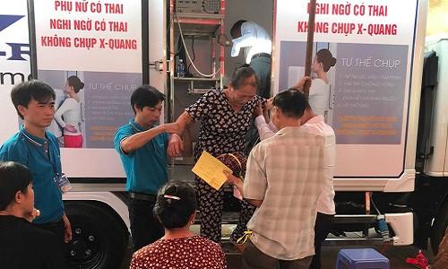 600 hộ nghèo, gia đình chính sách và có công với cách mạng tại Bình Phước được khám bệnh miễn phí