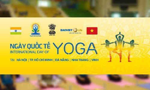 Ngày hội Quốc tế Yoga lần thứ hai - Hà Nội, 26/6/2016