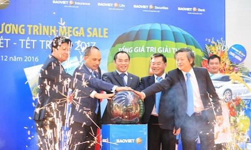 Thể lệ chương trình Bảo Việt Mega Sale Xuân gắn kết Tết tri ân - Bảo Việt Nhân thọ