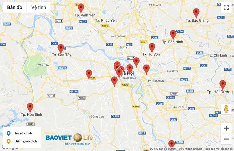 Mua An Phát Cát Tường tại các công ty thành viên Bảo Việt Nhân Thọ