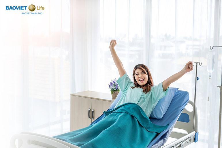 Quyền lợi của bảo hiểm nhân thọ khi nằm viện giúp người bệnh được khám chữa bệnh trong điều kiện tốt nhất