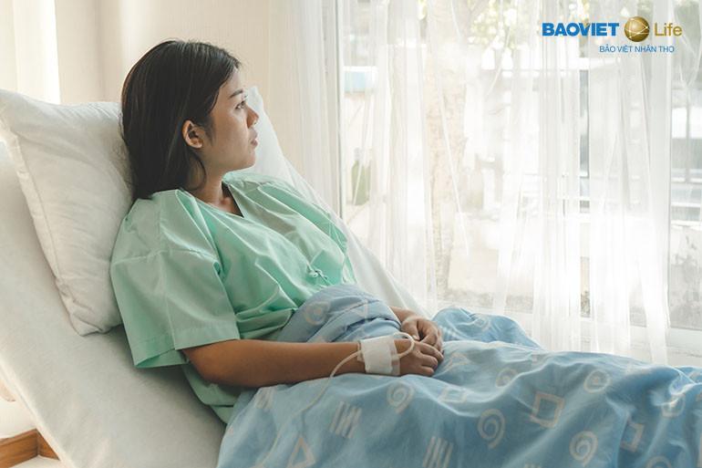 Bảo hiểm nhân thọ có lợi khi khách hàng ốm đau, nằm viện