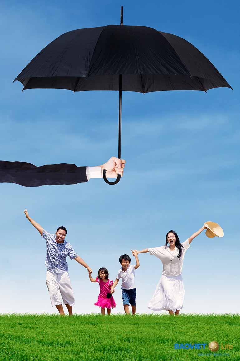 Bảo hiểm nhân thọ bảo vệ cuộc sống cả gia đình