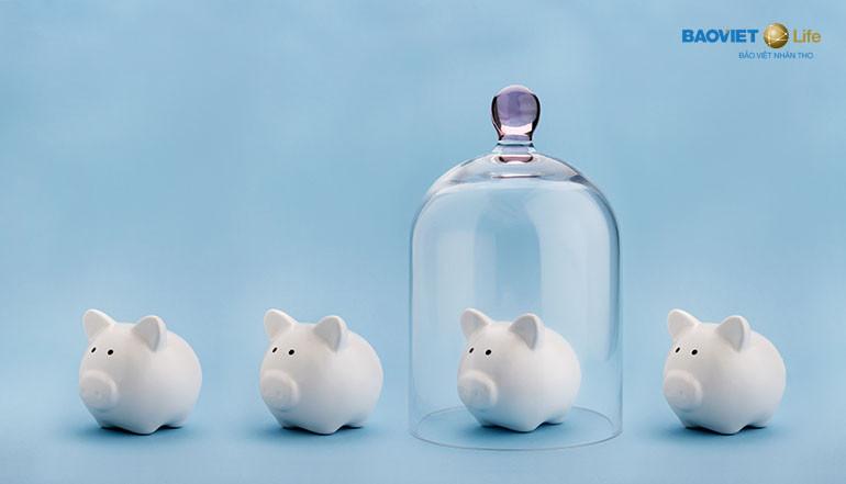 mua bảo hiểm nhân thọ để tiết kiệm