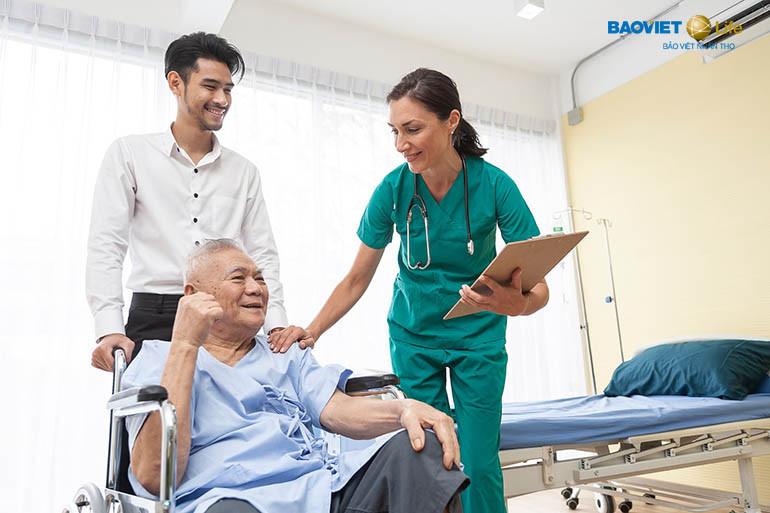 Bảo An Gia Đình Việt hỗ trợ khi nằm viện
