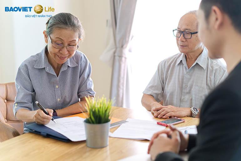 Bảo hiểm nhân thọ giúp nhận được tiền đáo hạn hợp đồng