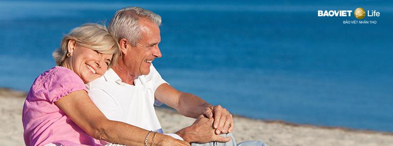 Bảo hiểm nhân thọ hưu trí giúp tận hưởng cuộc sống về già độc lập