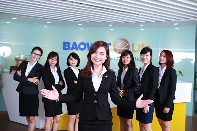 Đội ngũ tư vấn viên tại Bảo Việt Nhân thọ