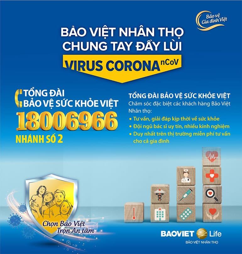Tổng đài Bảo Vệ Sức Khỏe Việt của Bảo Việt Nhân thọ