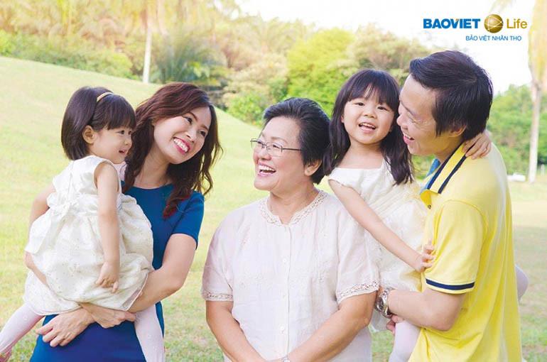 mua bảo hiểm nhân thọ an nhàn khi về già