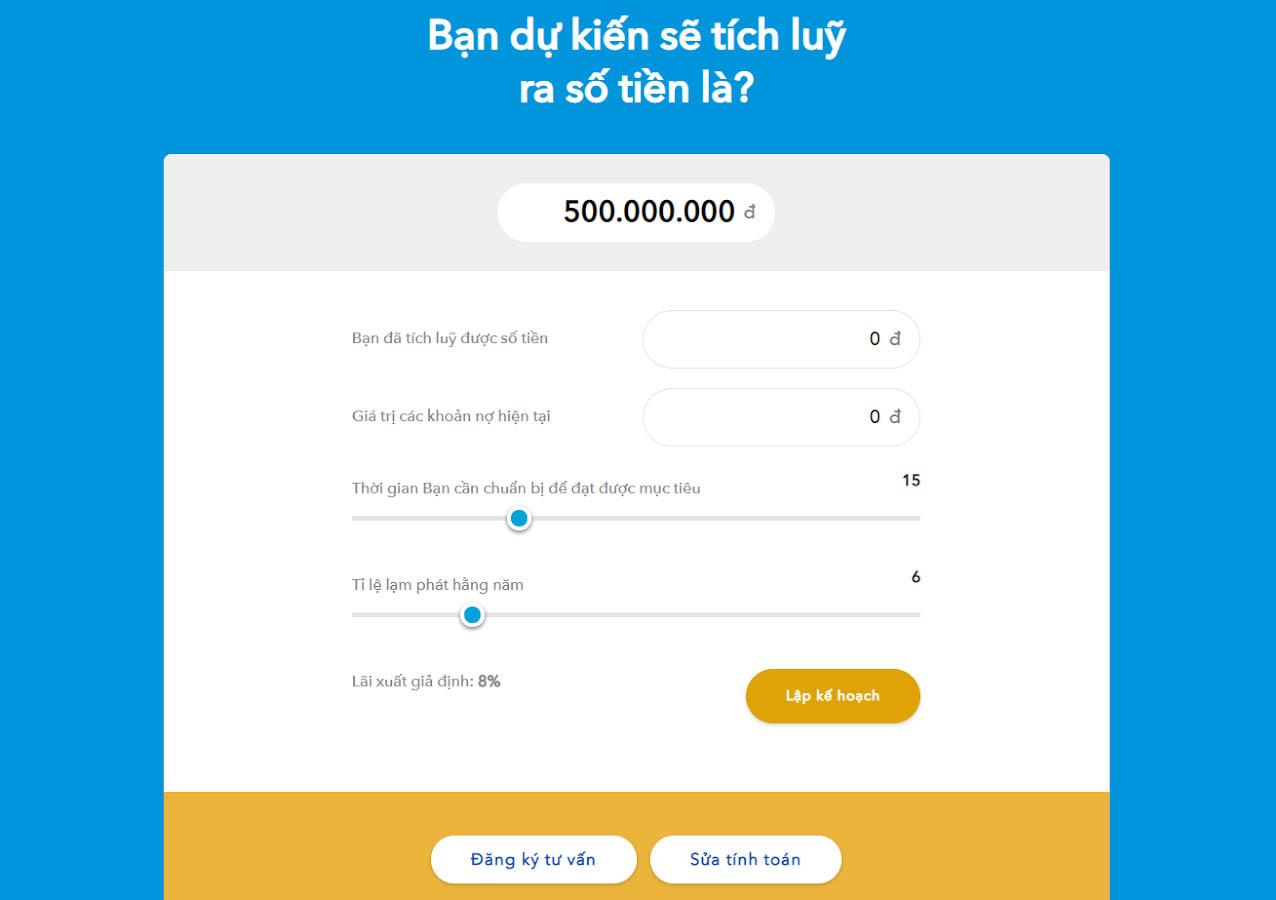 Lập kế hoạch mua bảo hiểm nhân thọ online