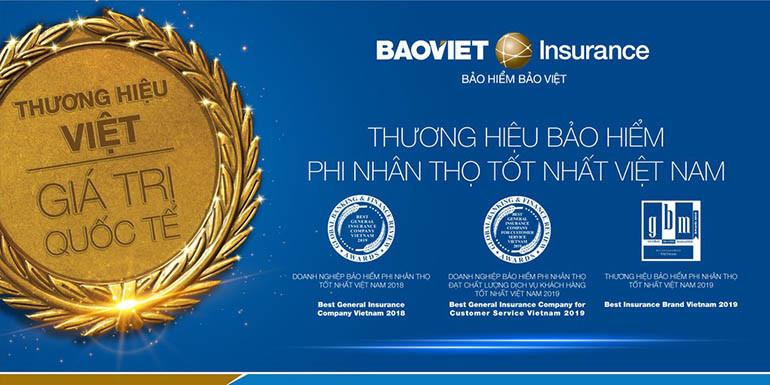 Bảo Việt dẫn đầu trong ngành bảo hiểm phi nhân thọ