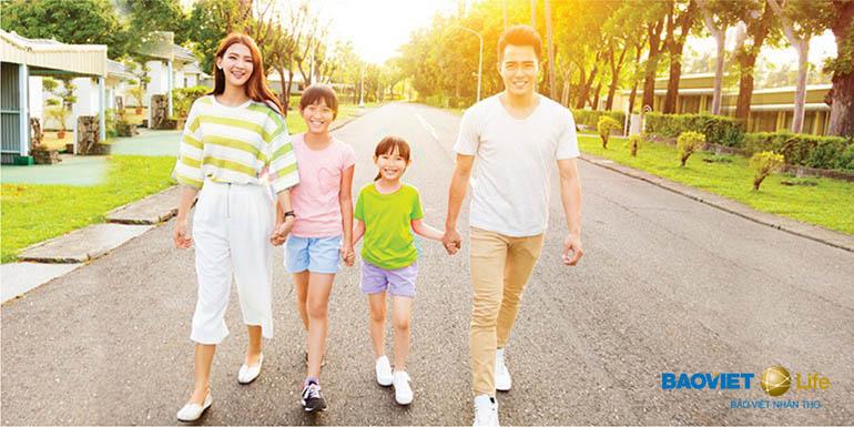 bảo hiểm nhân thọ giúp gia đình an tâm