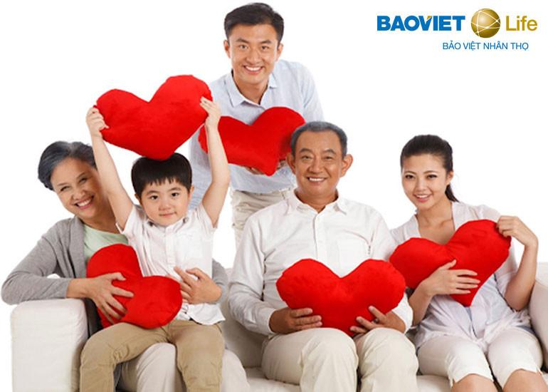 Bảo Việt Tâm An là sản phẩm dùng cho con và cả các thành viên cho gia đình