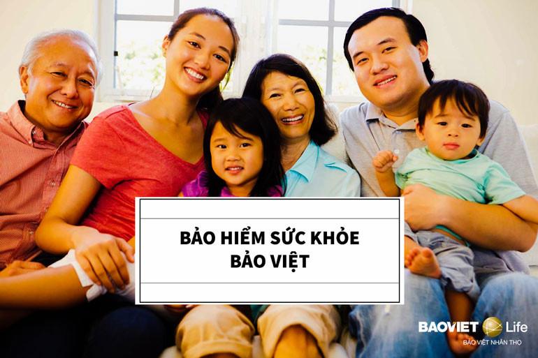 Kết hợp bảo hiểm nhân thọ và bảo hiểm sức khỏe Bảo Việt