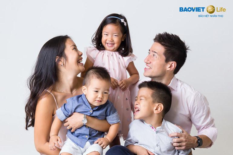 Gia đình an tâm với bảo hiểm nhân thọ