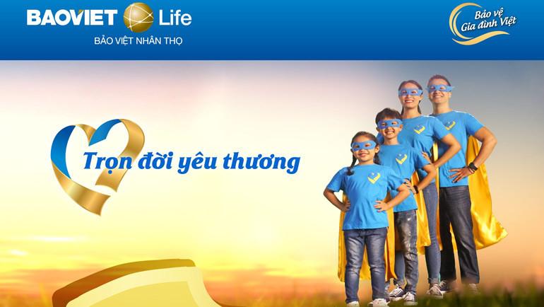 Sản phẩm Bảo Việt Nhân thọ Trọn Đời Yêu Thương