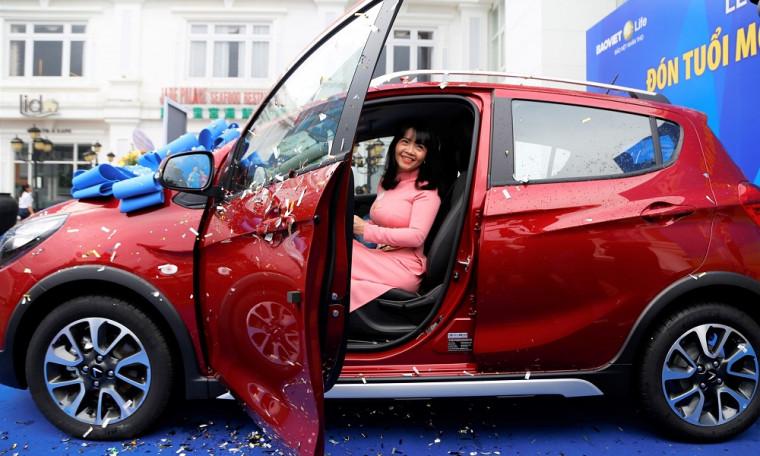 """Trao tặng 2 xe ô tô Vinfast Fadin của Chương trình """"Đón tuổi mới - Sức sống mới"""""""