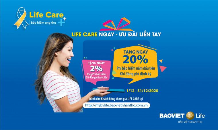 Chương trình khuyến mại LIFE CARE NGAY – ƯU ĐÃI LIỀN TAY
