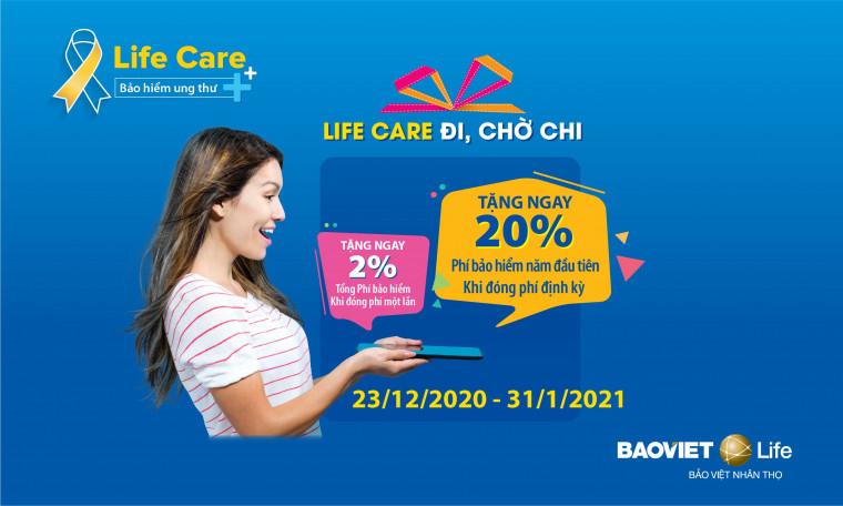 Chương trình khuyến mại LIFE CARE ĐI - CHỜ CHI
