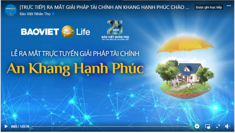 Truyền hình trực tiếp Lễ ra mắt sản phẩm mới An Khang Hạnh Phúc