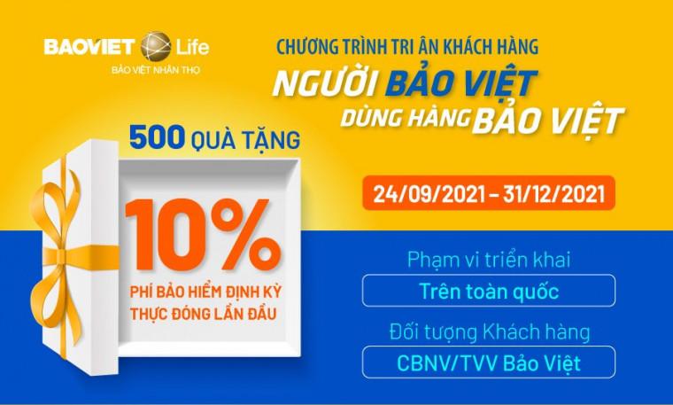 """Chương trình tri ân """"Người Bảo Việt dùng hàng Bảo Việt"""""""